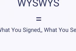 WYSWYS